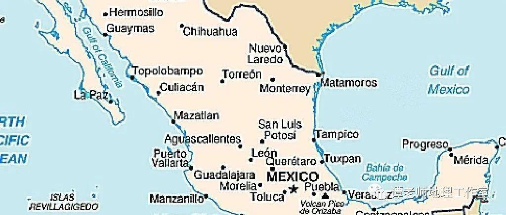 【热门考区】关于墨西哥湾的几个地理事实,地理考生注意了