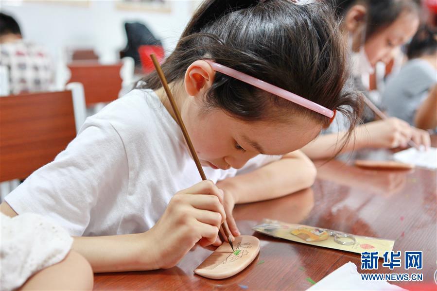 江苏常州:暑期开心学非遗