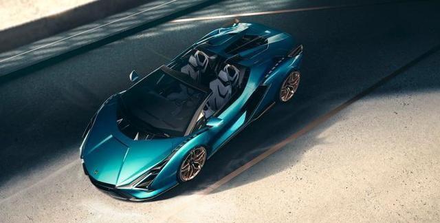 Sian Roadster赛车将在兰博基尼博物馆中亮相