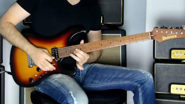 牛人电吉他演奏《我心永恒》,这个吉他音色很好听耶~
