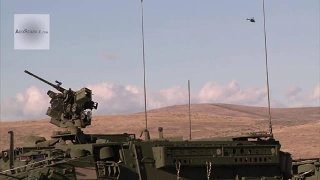 美国陆军实弹射击训练!