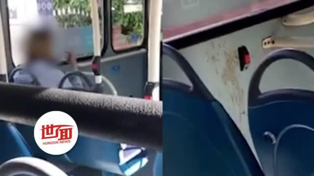 不戴口罩乘公交 英男子咳出红色液体抹公交上