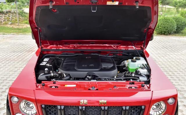 抗洪战车,国产猛兽,配3.0T V6,北京BJ80