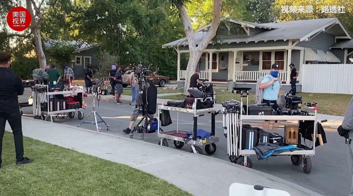 新防疫措施实施 好莱坞的电影制作重新起死而生 在加利福尼亚州通