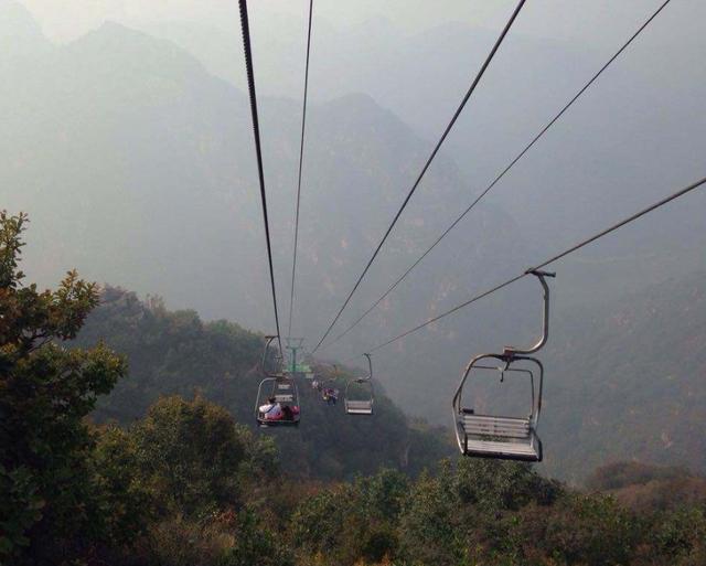 北京一处超惊险景区,内有1000米高空索道,四季皆宜游玩
