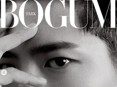 朴宝剑登《Vogue》杂志封面高级感十足