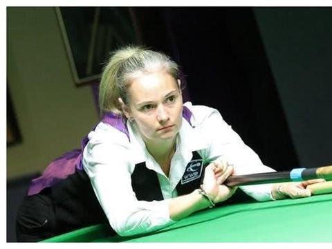 斯诺克女皇冲世锦赛正赛!曾获12次世界冠军,险绝杀3大赛全满贯