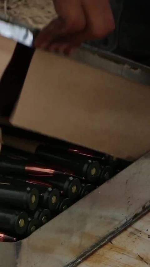 燃爆!让人热血沸腾的高射机枪实弹射击!