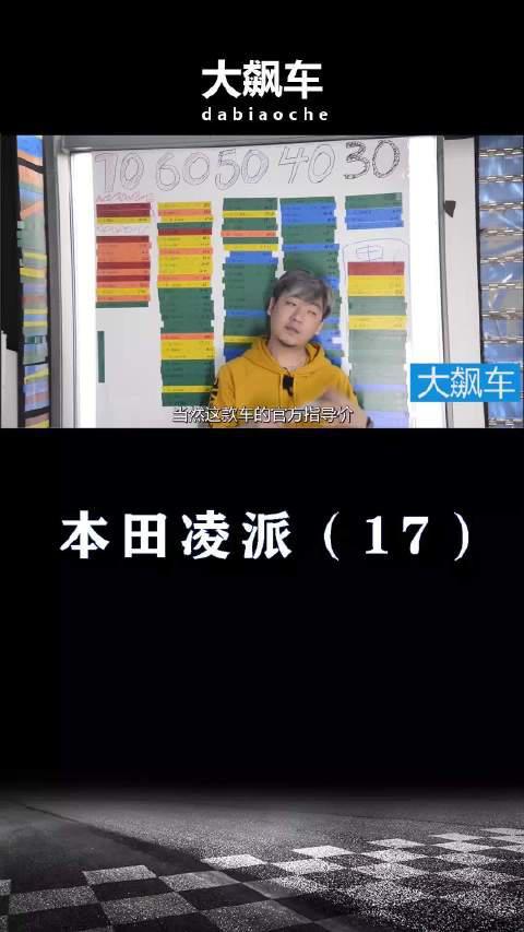 视频:本田凌派:中国人心理研究的透透的