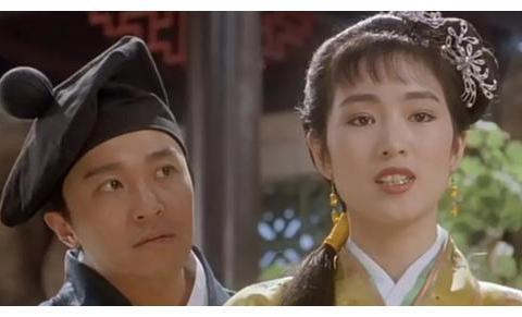 《唐伯虎点秋香》为何主角巩俐像个花瓶般的存在?反而女配更出彩