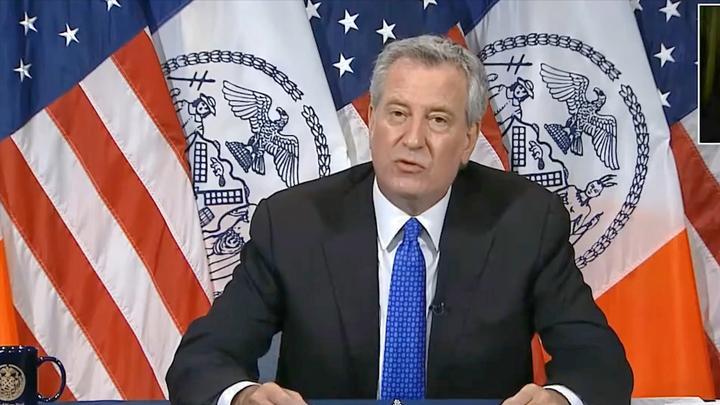 纽约市首现24小时无死亡病例 市长:太惊人、太令人感动了