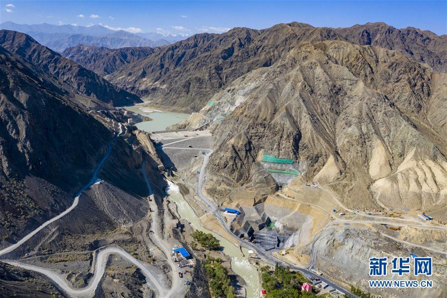 新疆精河下天吉水利枢纽二期工程建设稳步推进