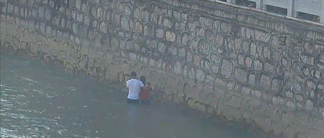 昨天下河救人的毕节小伙找到了!