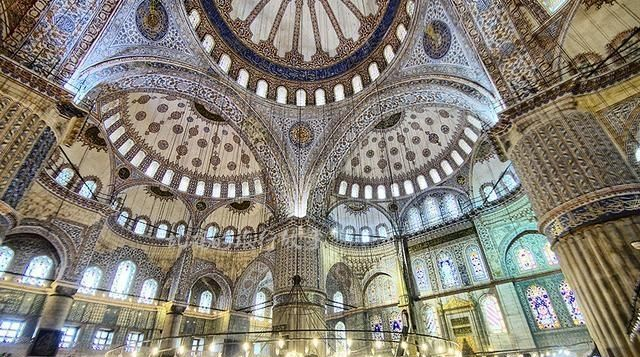 """""""蓝色清真寺"""",世界十大奇迹之一!世界上最美丽的清真寺"""