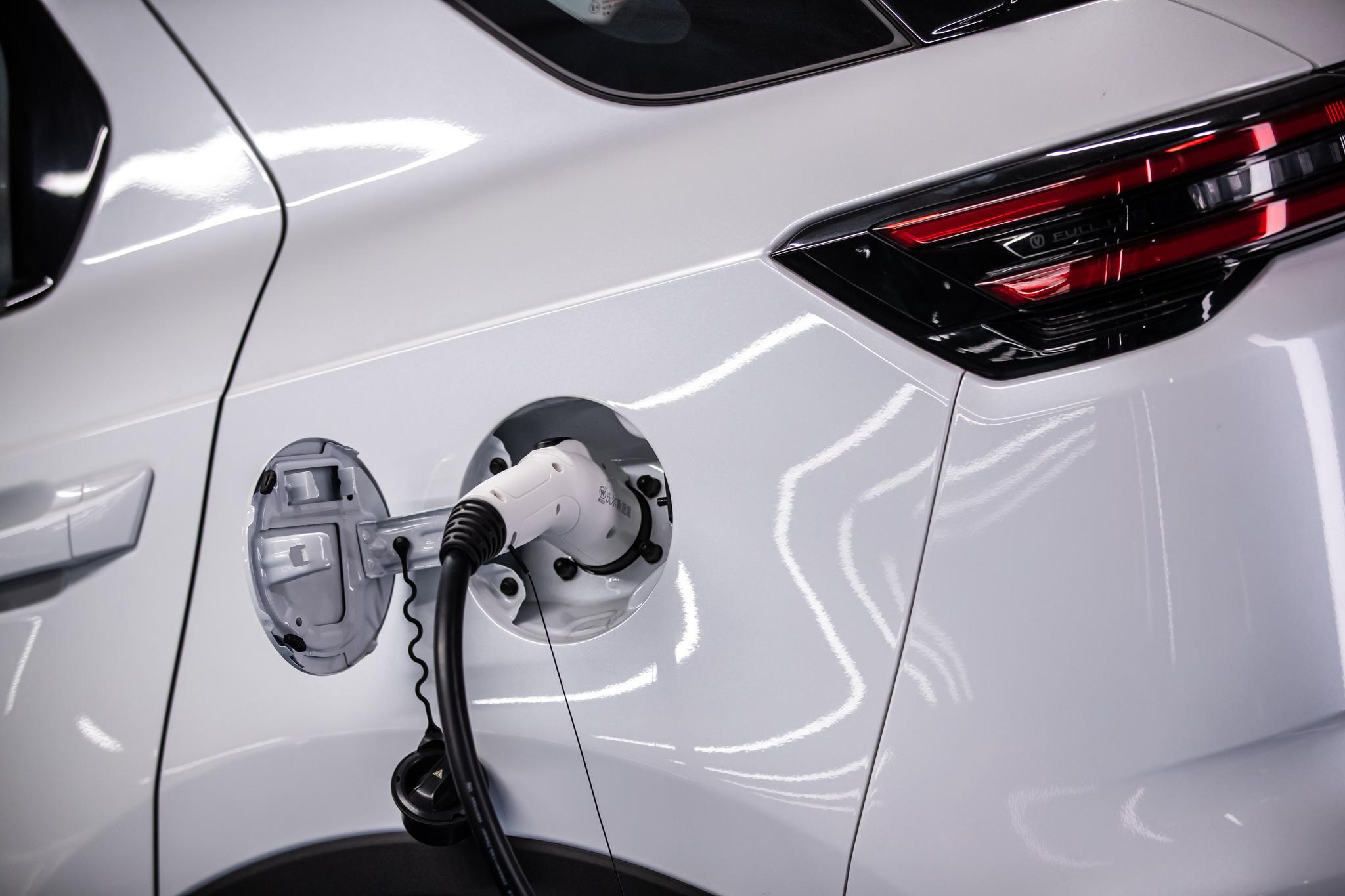 售价15.99——20.09万元 长安新能源CS55纯电版上市
