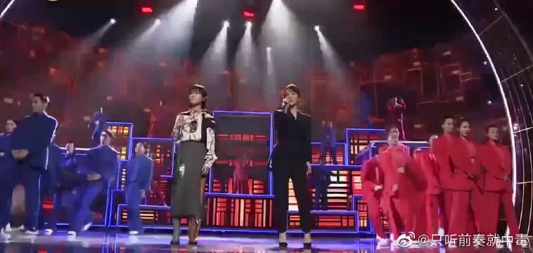 杨紫&周笔畅同台献唱《用尽我的一切奔向你》……