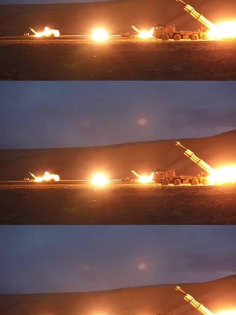这才是炮弹爆炸的声音!火箭炮弹落地瞬间雷霆万钧!