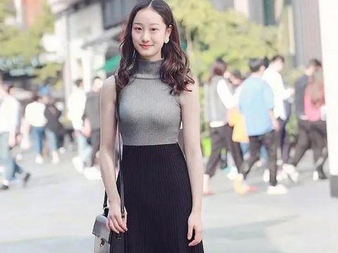 街拍:每到天热季节,满大街都是身材傲人的美女,让人大开眼界