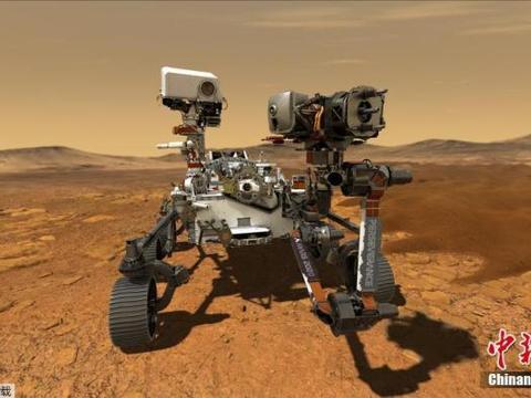 """美""""毅力号""""火星车将于月底升空 探寻微生物遗迹(图)"""