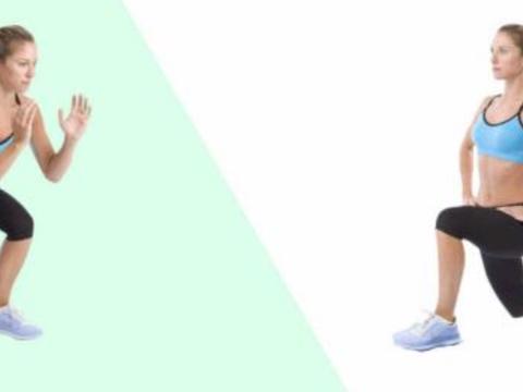 弓箭步和深蹲哪个效果更好?