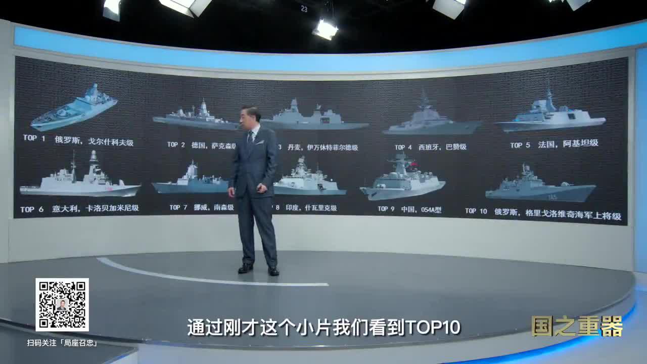 局座盘点国之重器:054A型护卫舰,创世界纪录!