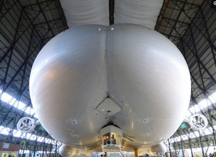 """网友戏称的""""飞天大屁股"""":全球最大飞行器起飞七天后傻眼了"""