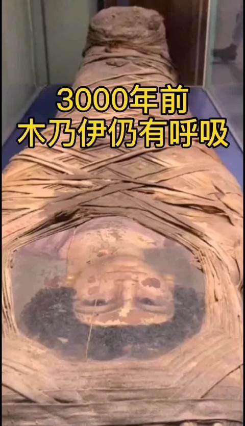 3000年前木乃伊仍有呼吸