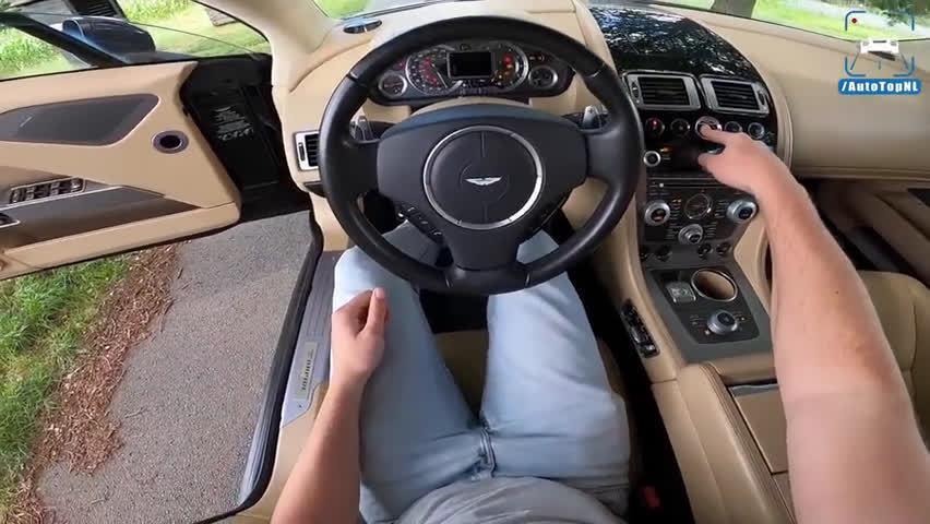 视频:第一视角开豪车:阿斯顿·马丁Rapide来啦