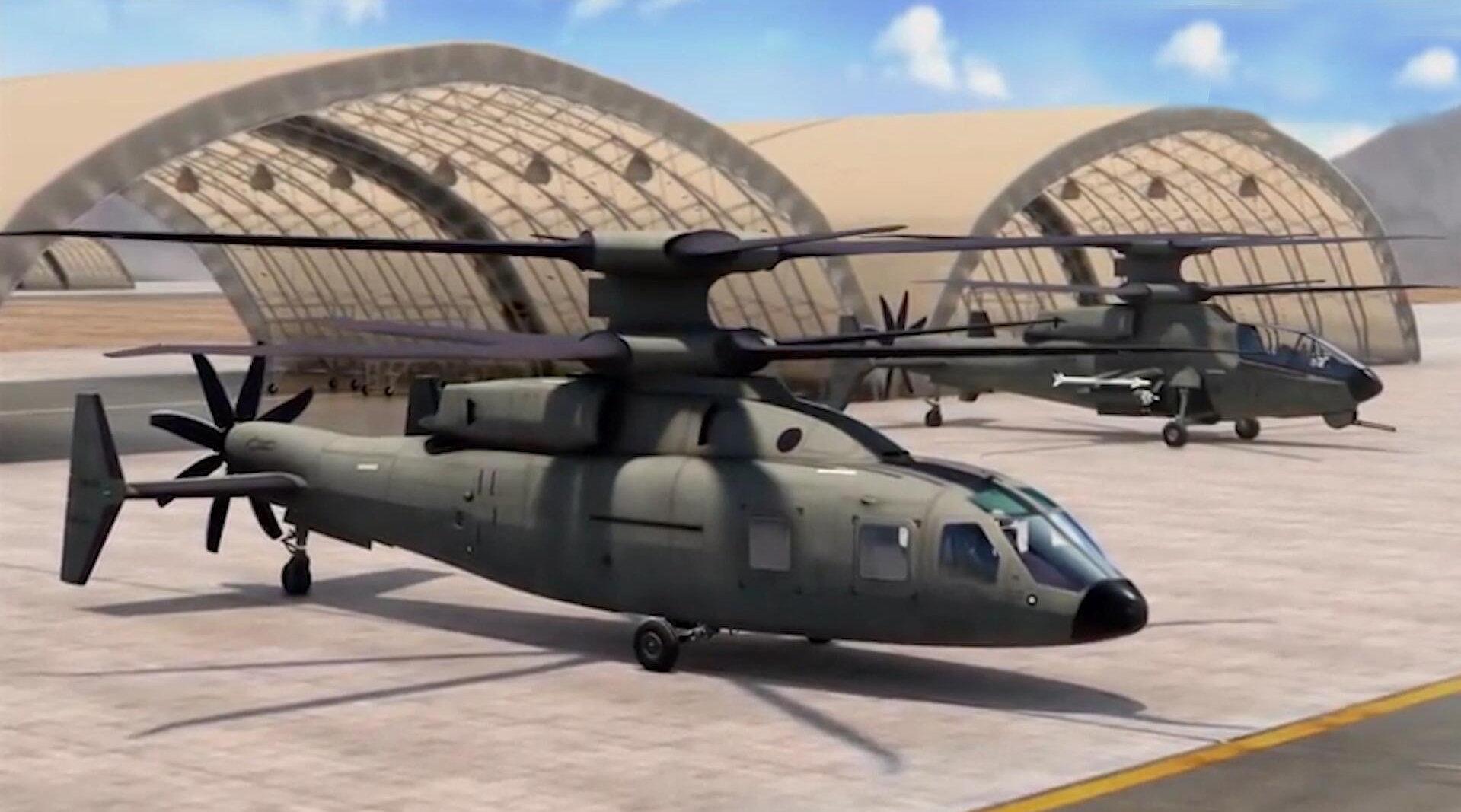 未来的武装直升机究竟有多强大?西科斯基和波音联手告诉你答案!