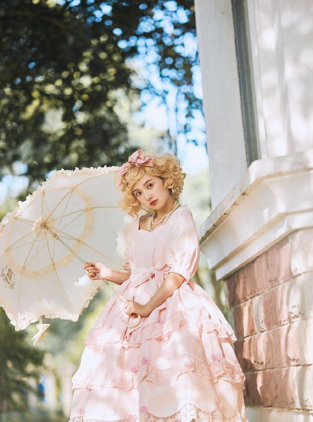 """自带芬芳的洛丽塔长什么样?让这款""""玫瑰庄园""""来告诉你"""