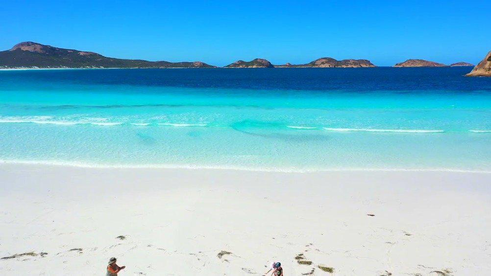 澳洲非常非常美的袋鼠海滩