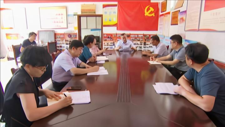 献县县委书记宫建军到临河乡调研指导脱贫攻坚工作