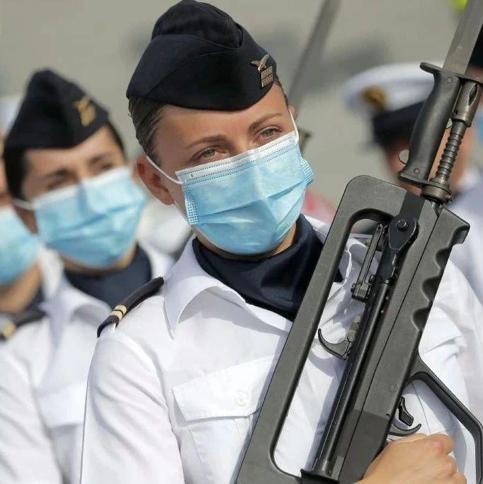 疫情下的法国国庆日阅兵   图说军事
