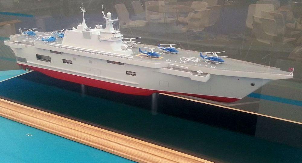 俄罗斯要造准航母了,在克里米亚同时开工建造两艘
