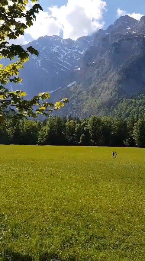 德国贝希特斯加登的国王湖,这里有欧洲最清澈的湖水……