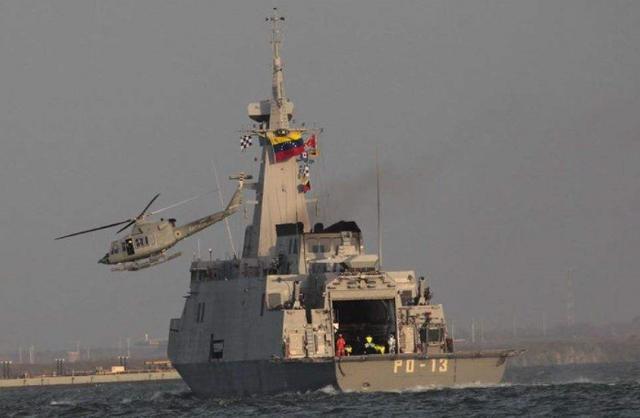 公然违反国际法,美军舰闯入委国毗连区航行,距离海岸仅有16海里