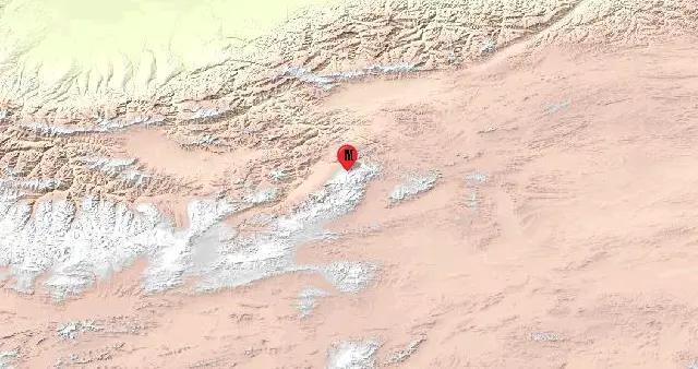 新疆和田地区于田县发生3.4级地震