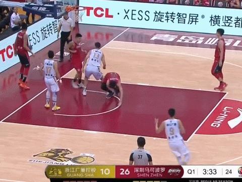 卢艺文27+10杨林祎20分 深圳险胜广厦结束三连败