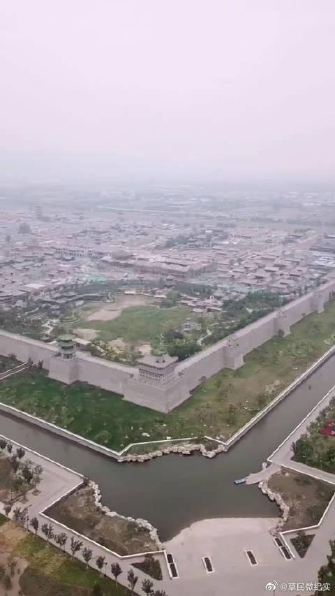 晋阳古城,美丽风景,是暑假旅游的好去处