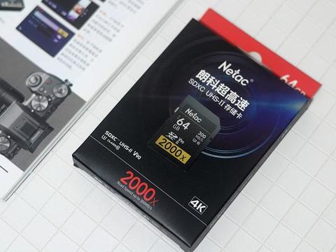 单反超高清摄录,朗科P600 UHS-II超高速SD存储卡帮你一步解决