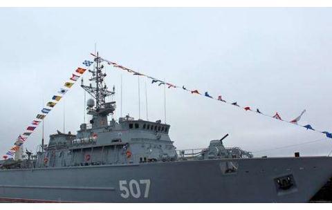 舰身玻璃材质,装载无人潜水器和无人机!俄核将接收新型扫雷舰