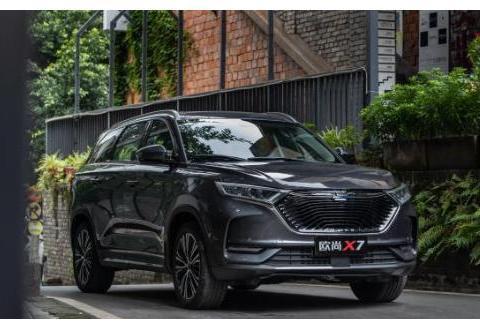 国产汽车也有精致之作,长安欧尚X7会是你的座驾吗?