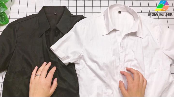 2020年流行的拼接衣服不用买,家里衣服就能改,成品比买的还洋气