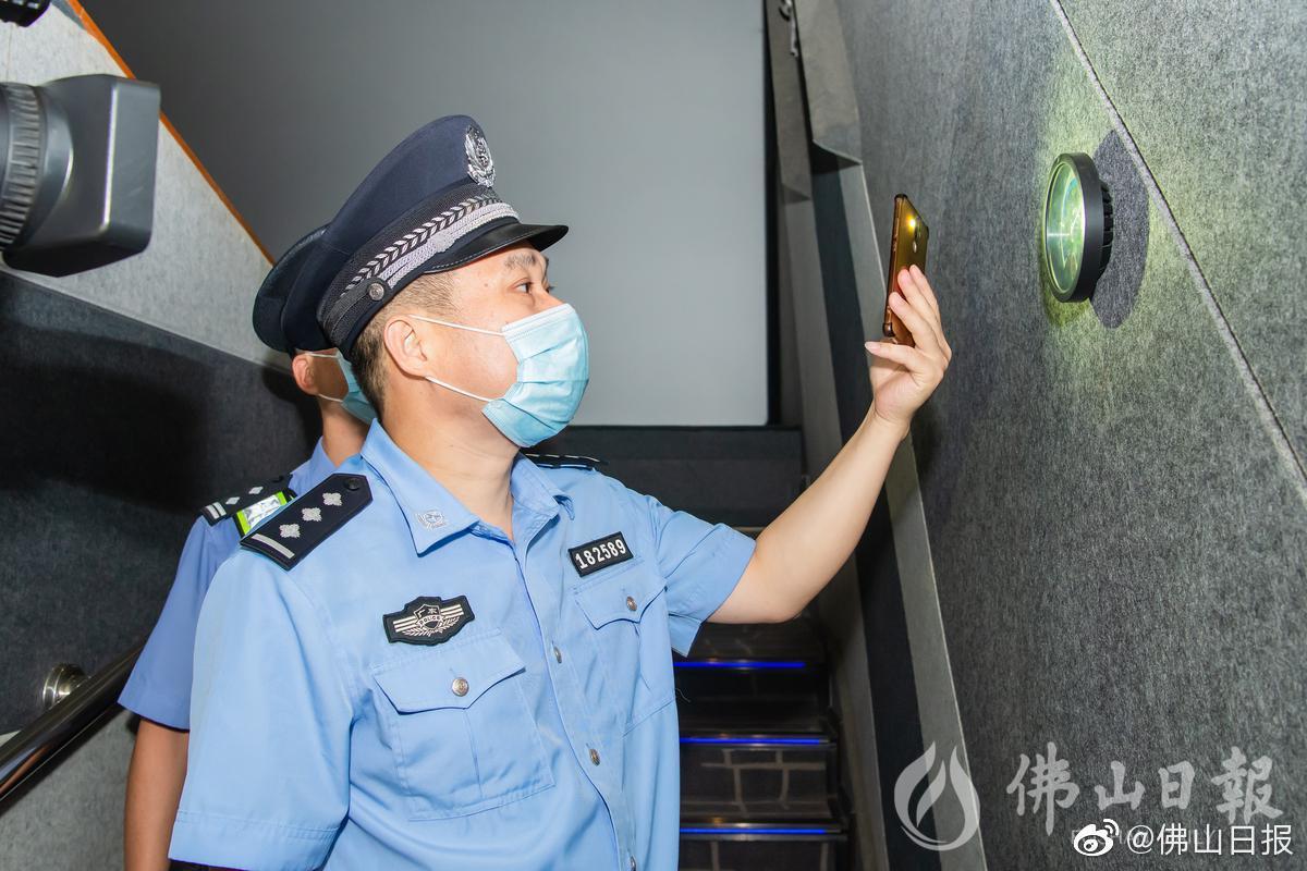 禅城加强火灾调查 护送电影院恢复营业