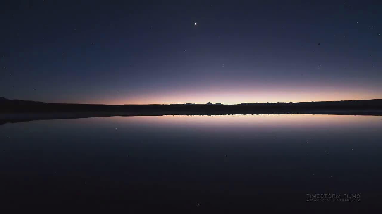 智利的阿塔卡马沙漠对生命并不友好……