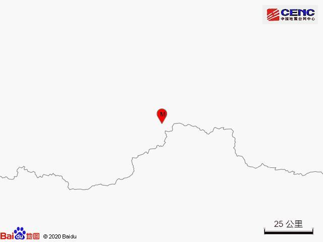 新疆和田地区于田县发生3.6级地震