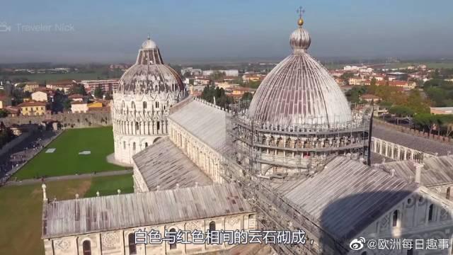 比萨主教堂,意大利中世纪最重要的建筑群!真的是太可了啊!