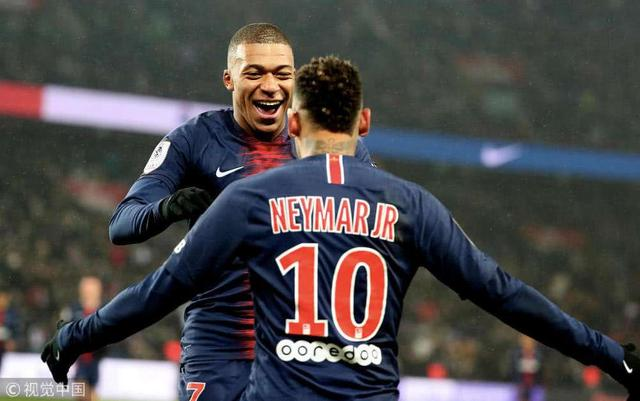 热身赛即时战报:姆巴佩、内马尔接连3场破门,巴黎2-0凯尔特人