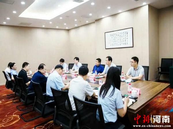 许昌市检察院党组书记、检察长张桂平到定点联系服务企业走访调研