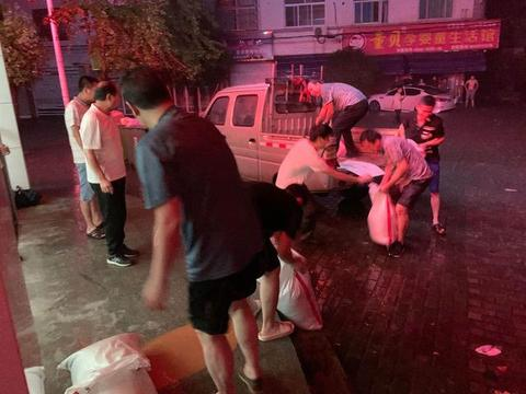 「工行温度」记工行安庆桐城支行孔城镇抗洪的惊心一夜